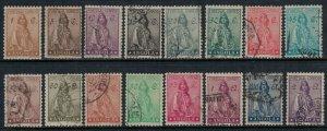 Angola #243-8,50-8,59*/u  CV $9.95