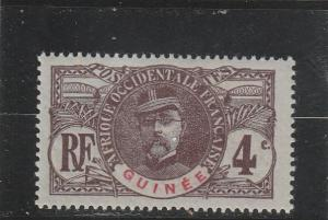 French Guinea  Scott#  35  MH  (1906 Gen. Faidherbe)