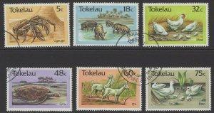 TOKELAU ISLANDS SG136/41 1986 AGRICULTURE FINE USED