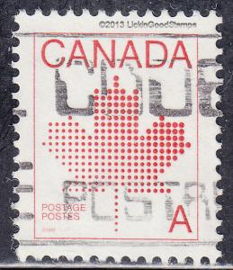 Canada 907 USED 1981 Canada 'A' ($0.30) Stamp