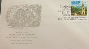 A) 1978 ARGENTINA, PHILATELIC EXHIBITION, STAMP 1314 WITH THE INSCRIPTION, CHURC