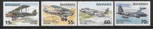 BAHAMAS SG1132/5 1998 ROYAL AIR FORCE MNH