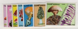 GUINEA BISSAU Sc. # 765-71 MNH 1988 MUSHROOMS (639A-2)