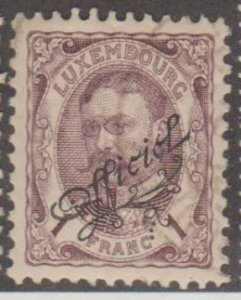 Luxembourg Scott #O96 Stamp - Used Single