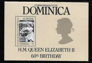 DOMINICA 953 MNH QUEEN ELIZABETH II 60TH BIRTHDAY