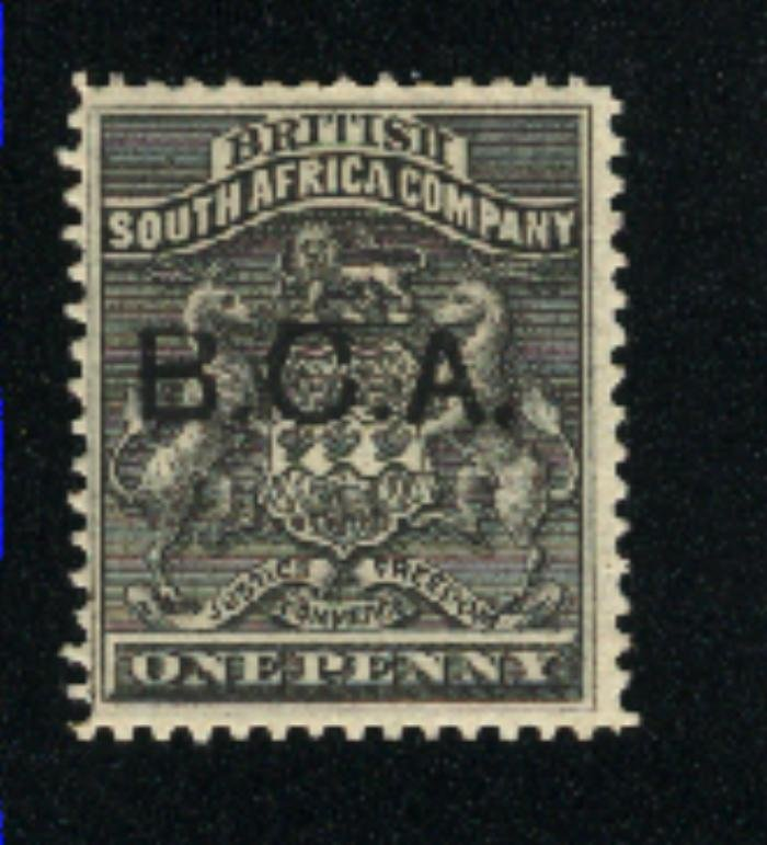 British Central Africa #1    Mint 1891-95 PD