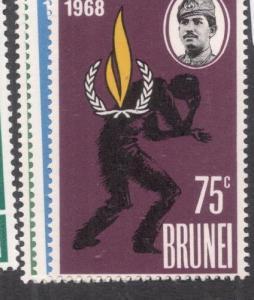 Brunei SG 163-5 MOG (2dep)