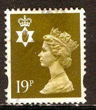 Great Britain, Regional, North. Ireland; 1999: Sc. # NIMH68: O/Used Single Stamp
