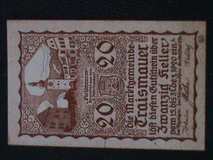 1920 GERMANY ANTIQUE UN-KNOWN SOUVENIR SHEET.#33