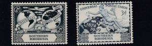 SOUTHERN RHODESIA  1949  U P U  SET MH