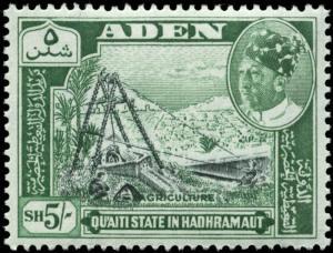 Aden, Quaiti State of Shihr & Mukalla Scott #51 Mint Never Hinged