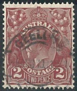 70268m - AUSTRALIA - STAMP: Stanley Gibbons #  98 -  Finely Used
