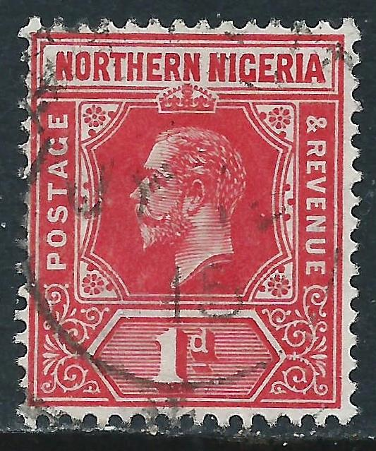 Northern Nigeria, Sc #41, 1d Used
