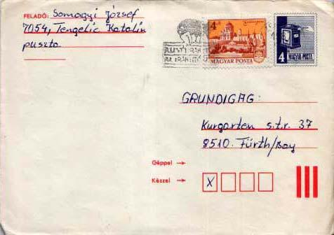 Hungary, Postal Stationery
