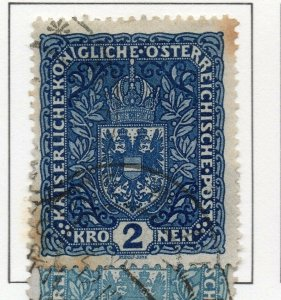 Austria 1916 Early Issue Fine Used 2K. NW-38051