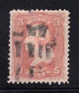 US Scott Stamp #94 F Grill Used SCV $10