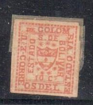 Columbia - Bolivia #2 Mint H
