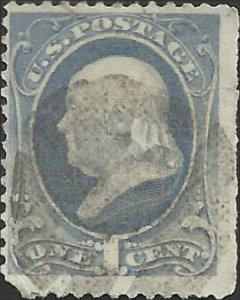# 206 Gray Blue Used FAULT Ben Franklin