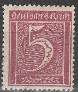 Germany #137 MNH F-VF (V1896)