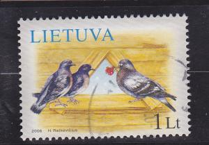 Lithuania  Scott#  822  Used