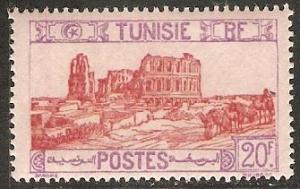 Tunisia 1928 Scott 113 Roman Amphitheater, El Djem MNH