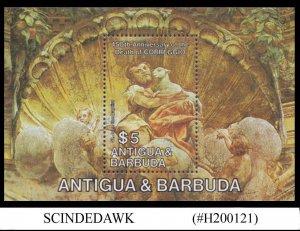 ANTIGUA & BARBUDA - 1984  450th DEATH ANNIVERSARY OF CORREGGIO - MIN/SHT MNH