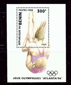Benin 740 MNH 1995 Olympics S/S