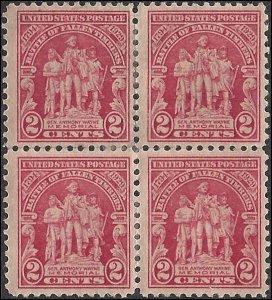 680 Mint,OG,HHRs...  Block of 4... SCV $2.60