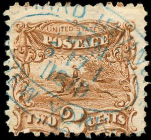 momen: US Stamps #113 Used Revenue Usage Scarce