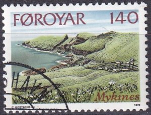 Faroe Islands #33 F-VF Used  (SU8326)