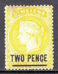 St. Helena - Scott #36 - MNG - Stain UL corner - SCV $3.25