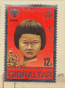 Gibraltar 1979 QEII Early Issue Fine Mint Unmounted 12p. NW-99294