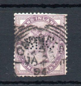 1d LILAC USED WITH 'SDC' PERFIN