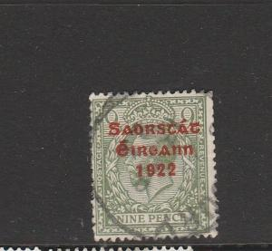Ireland Opts 1922 Type 5, 9d Used SG 61