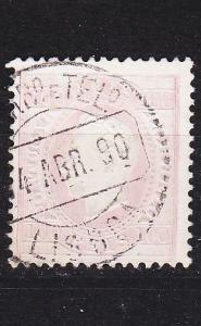 PORTUGAL [1870] MiNr 0041 yB ( O/used )
