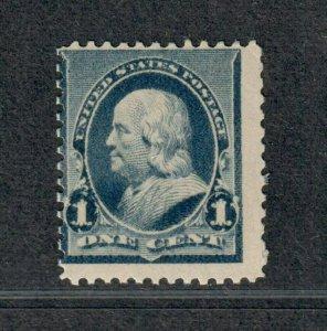 US Sc#219 M/NH/A, Cv. $65