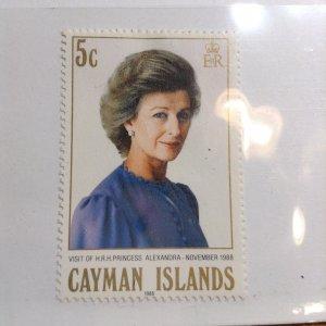 Cayman Islands  # 602  MH