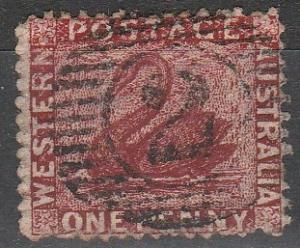 Western Australia #26 F-VF Used  CV $7.75 (A16706)