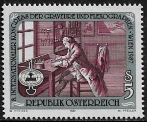 Austria #1400 MNH Stamp - Congress of Engravers