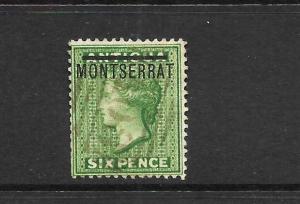 MONTSERRAT  1876  6d     QV    FU      SG 2