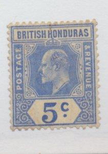 British Honduras Stamp Scott #73, Used