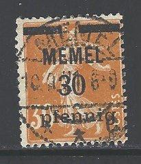 Memel Sc # 21 used (RS)