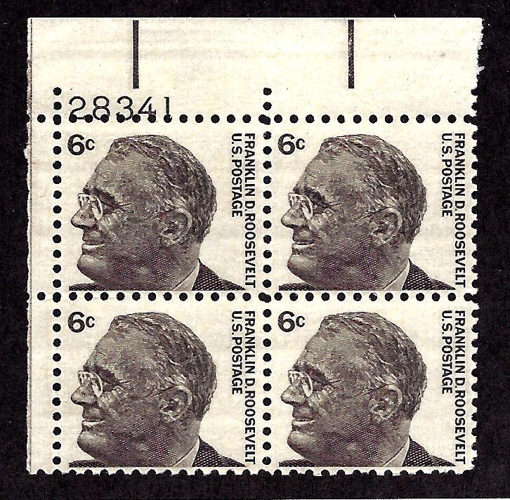 1284 Mint,OG,NH... Plate Block of 4... SCV $1.00