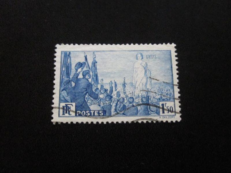 France #321 Used- (W9) I Combine Shipping 2
