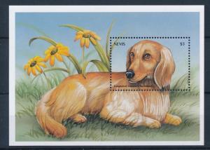 [35304] Nevis 2000 Animals Dogs MNH Sheet