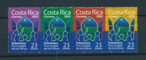 [104173] Costa Rica 2003 Postal tax children's village Christmas star  MNH