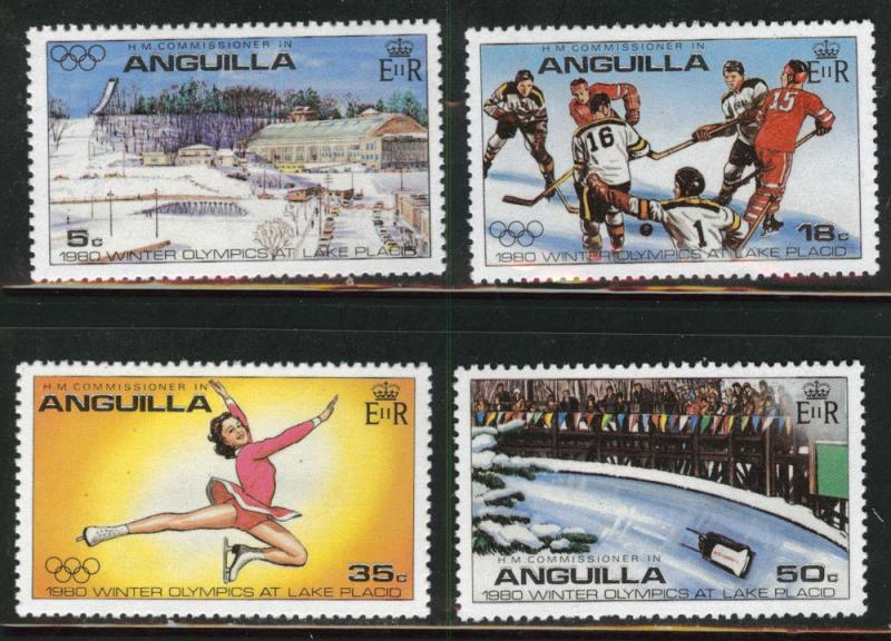 ANGUILLA Scott 32-35 MNH** set