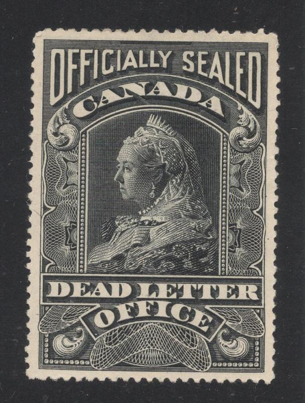 Canada #OX3 Official Seal - Dead Letter Office - Unused
