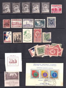 POLAND ECLECTIC COLLECTION LOT MINT USED MIXED