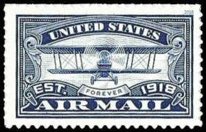 US #5281 {50c}Air Mail, Cent., MNH, (PCB-3)